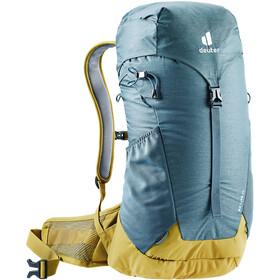 deuter AC Lite 24 Backpack, azul/amarillo